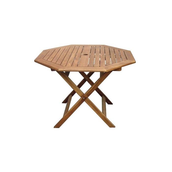 Happy Green Stůl šestihranný