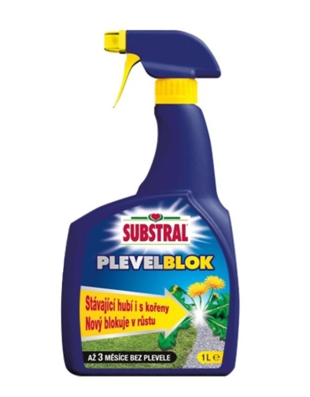 SUBSTRAL plevel blok PATH CLEAR postřikovač 1000ml 1442102