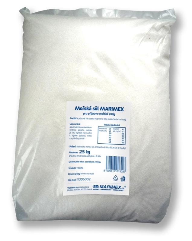 MARIMEX Sůl mořská 25 kg Marimex 11306002