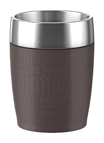 EMSA Termohrnek 0,2 l hnědý Travel Cup Emsa
