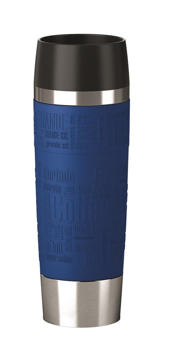 EMSA Termohrnek cestovní XXL 0,5 l Blue Travel Mug Grande Emsa