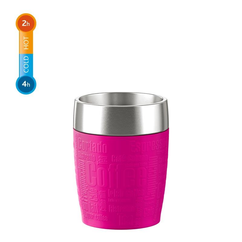 EMSA Termohrnek růžový 0,2 l TRAVEL CUP Emsa 514517