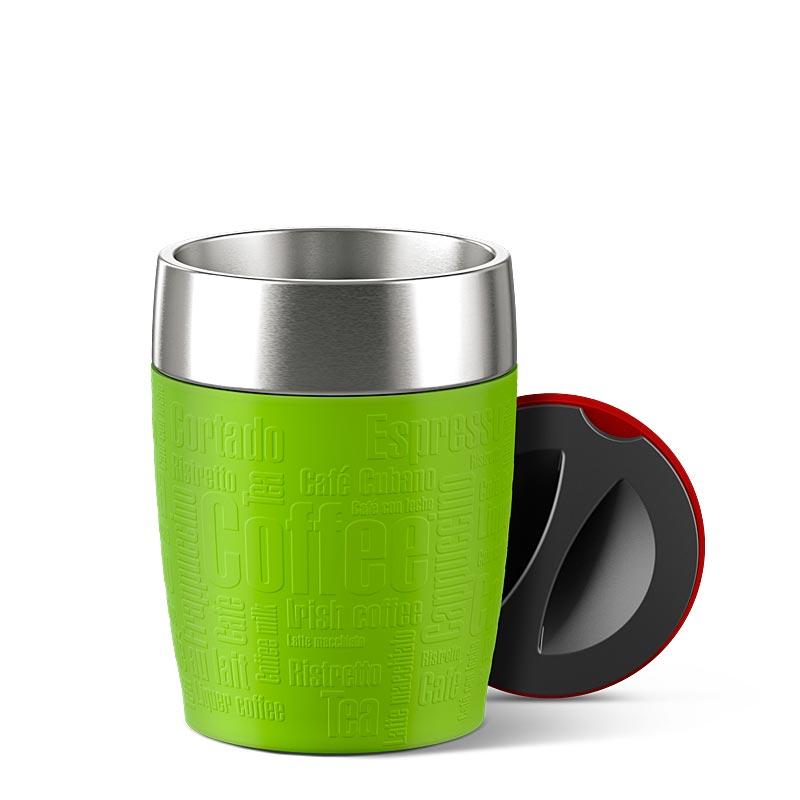 EMSA Termohrnek zelený 0,2 l TRAVEL CUP Emsa 514516