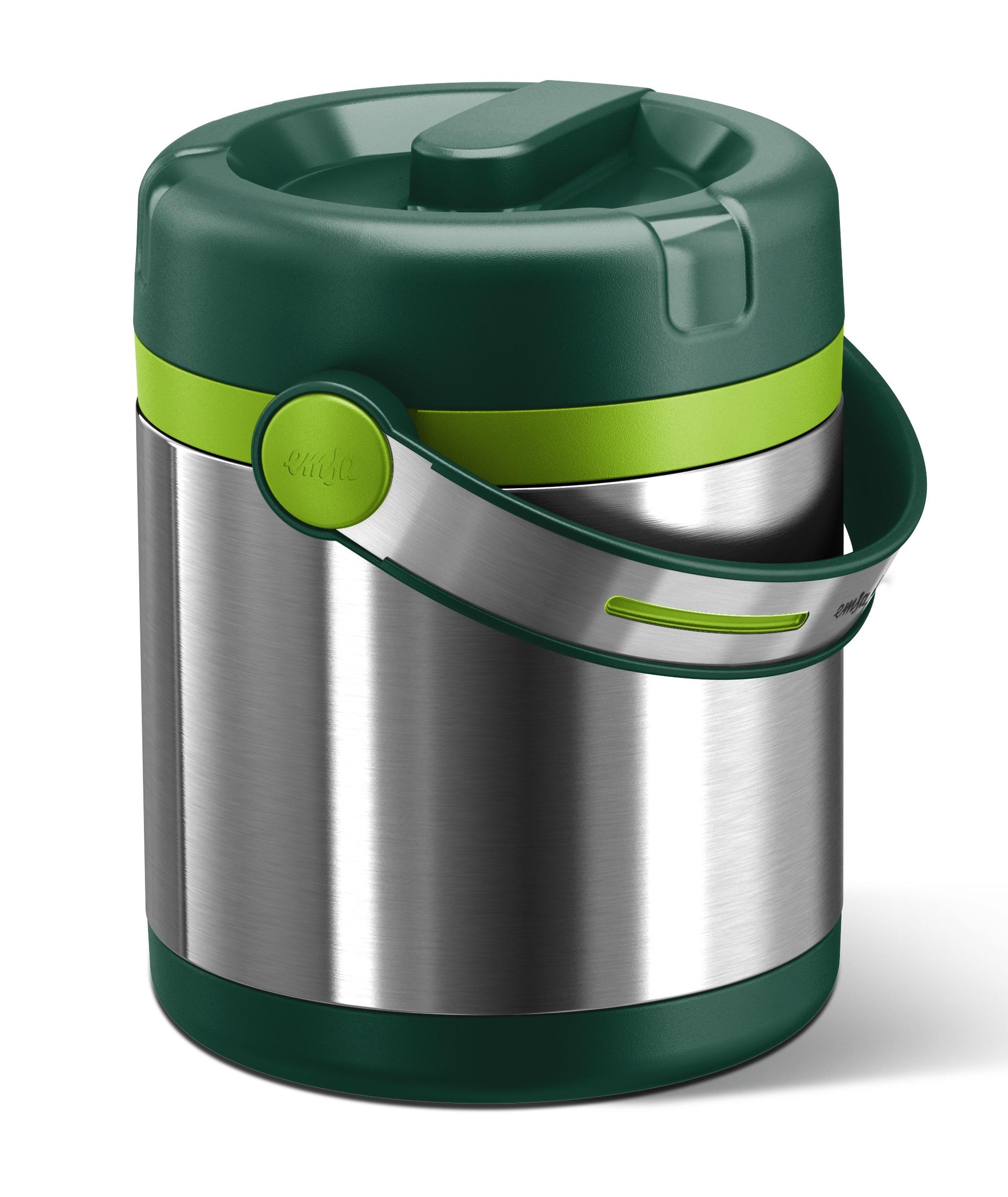 EMSA Termonádoba, jídlonosič, zelený, 1,2 l Mobility Emsa