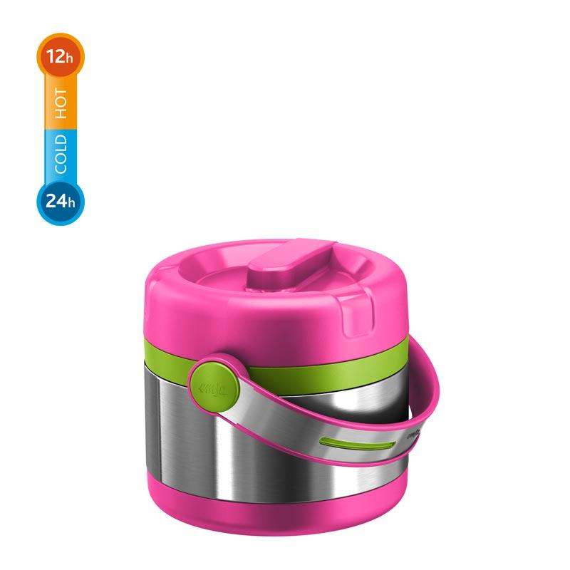 EMSA Termonádoba na potraviny Mobility Kids růžová/zelená 0,65 l Emsa 515861