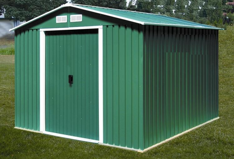 DURAMAX Zahradní domek Duramax TITAN XXL 7,9 m2 - zelený