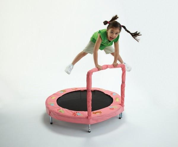 BAZOONGI Trampolína JumpKing BAZOONGI 125 cm - králíček