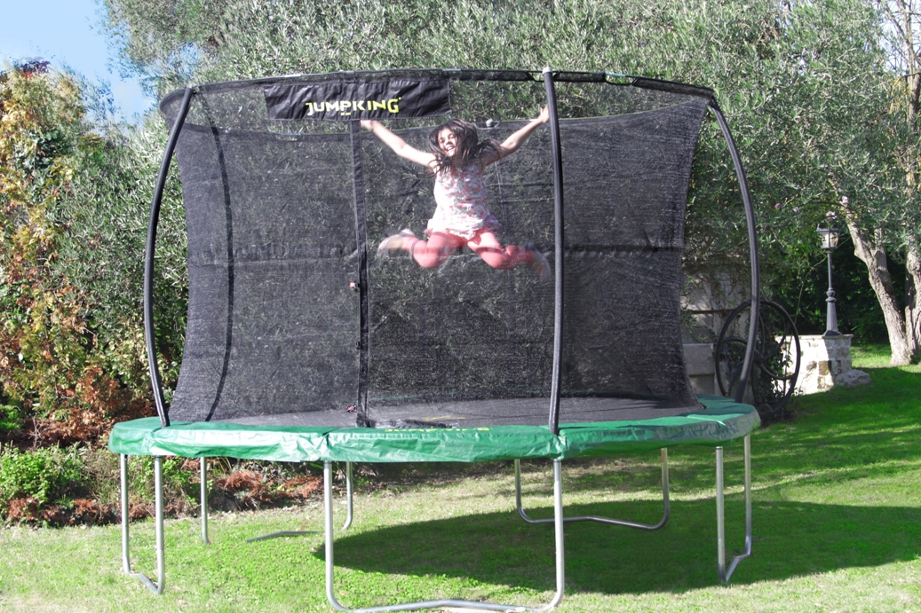 JUMPKING Trampolína JumpKing JumpPOD CLASSIC 4,2 m, model 2016