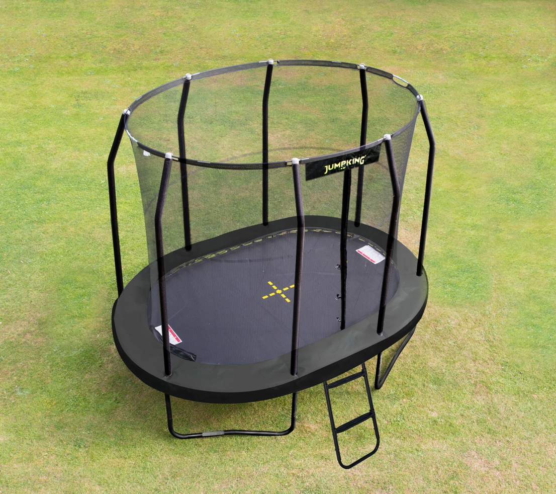 JUMPKING Trampolína JumpKing OVAL-POD 2,5 x 3,4 m, model 2016