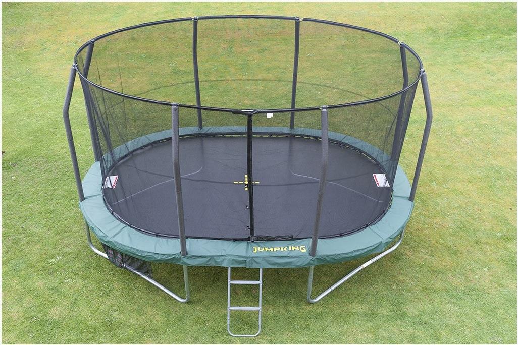 JUMPKING Trampolína JumpKING OvalPOD 3 x 4,5 m
