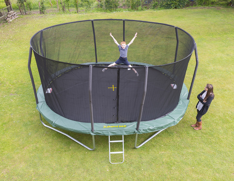 JUMPKING Trampolína JumpKING OvalPOD 4,3 x 5,2 m