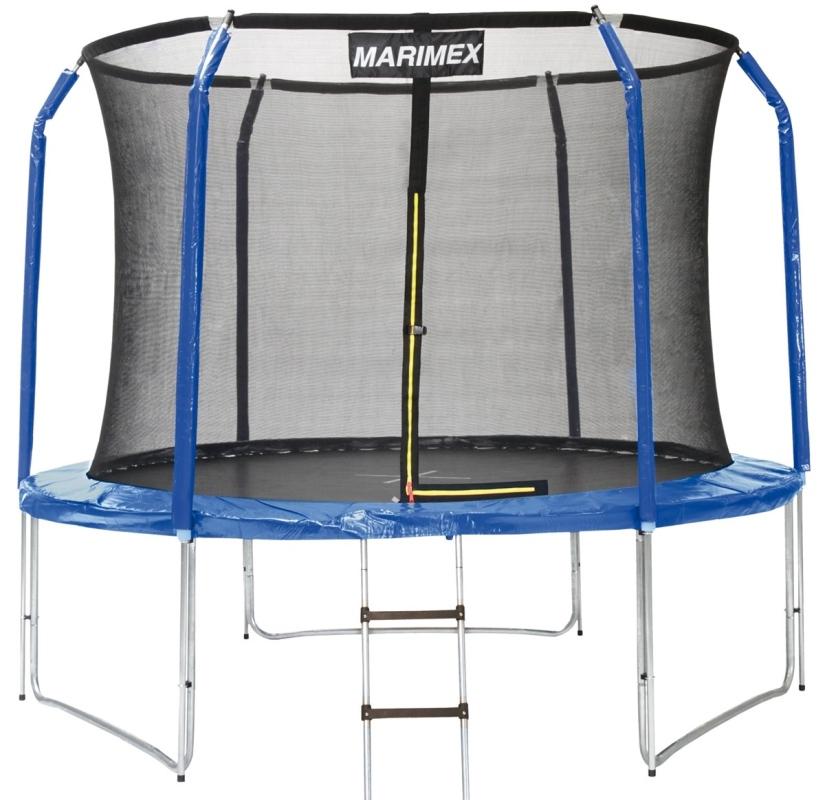 MARIMEX Trampolína Marimex 305 cm s ochrannou sítí a žebříkem