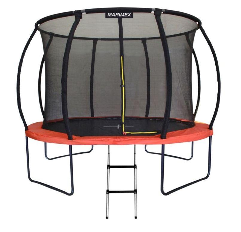 MARIMEX Trampolína Premium 305 cm + vnitřní ochranná síť + schůdky Marimex 19000068