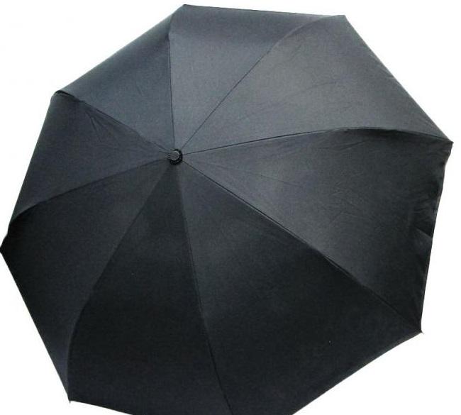 DOPPLER Větruodolný automatický deštník černý dekor 08 Carbonsteel Magic Doppler 74476708