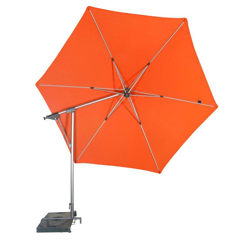 DOPPLER Výkyvný slunečník DOPPLER Sunline 320 cm oranžový