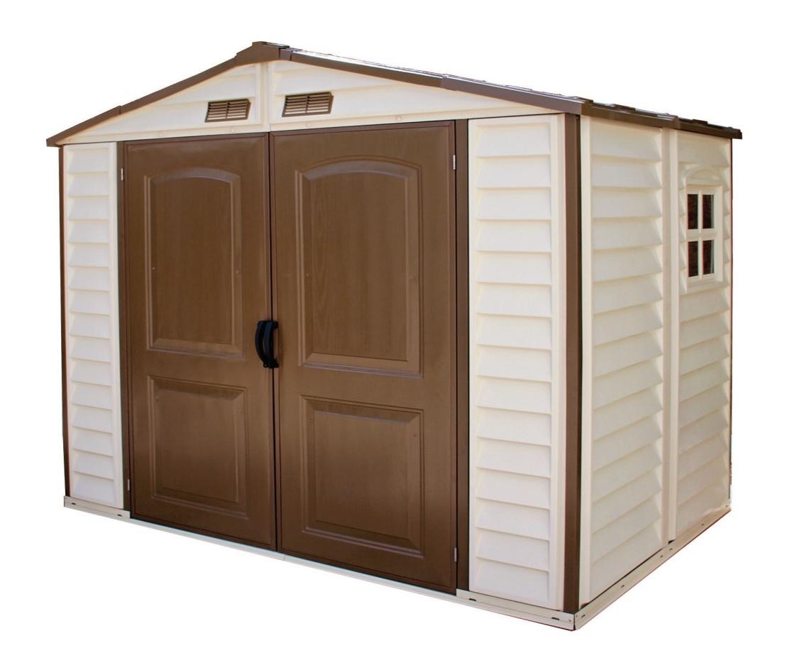 DURAMAX Zahradní domek Duramax STOREALL 3,9m2 + podlahová konstrukce (model 30115 8x6´) výprodej
