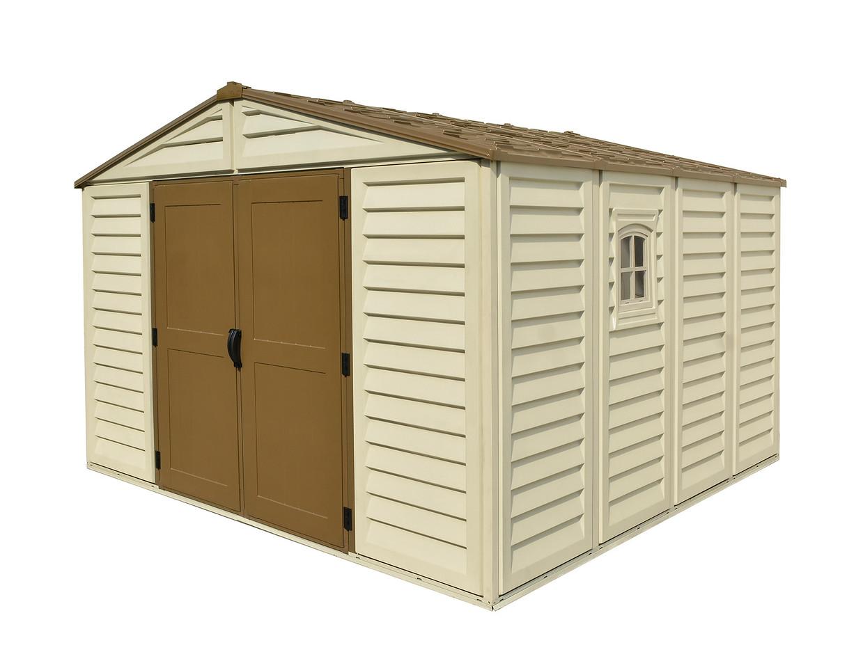 DURAMAX Zahradní domek Duramax WoodBridge Plus 10m2 + podlahová konstrukce (model 40224 -10x10´)