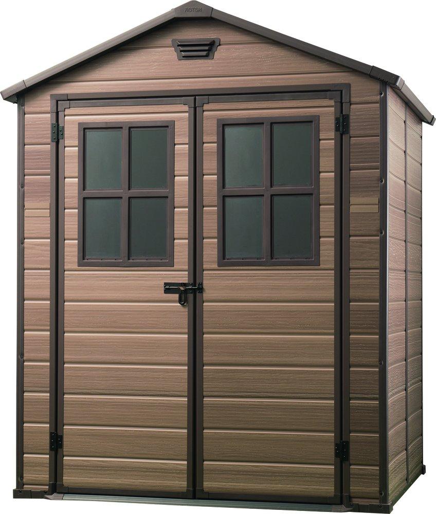 KETER Zahradní domek Keter SCALA 6x5 s okny 17202393