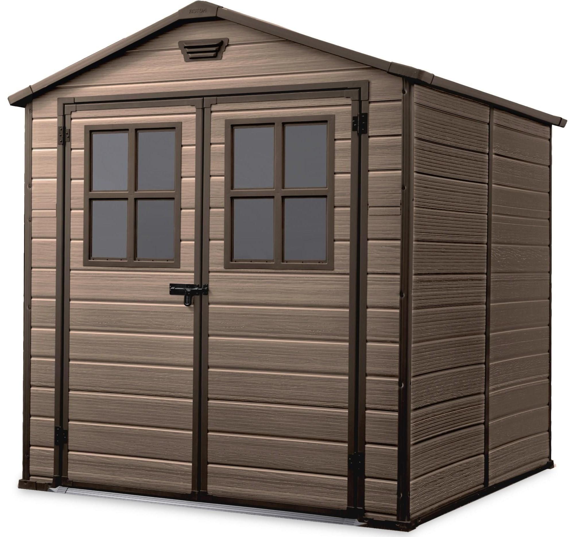 KETER Zahradní domek Keter SCALA 6x8 s okny 17202394