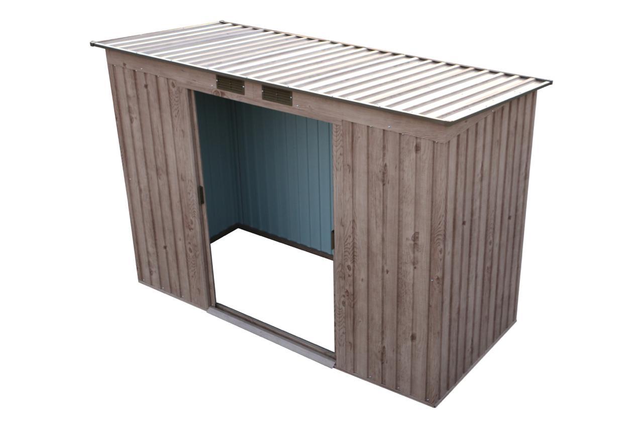 DURAMAX Zahradní domek PENT ROOF 3,3 m2 Duramax 7443 - dekor dub