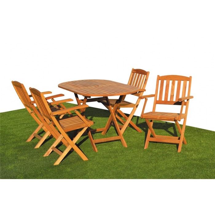 ASKO a. s. Zahradní nábytek sestava CHICAGO 4+1