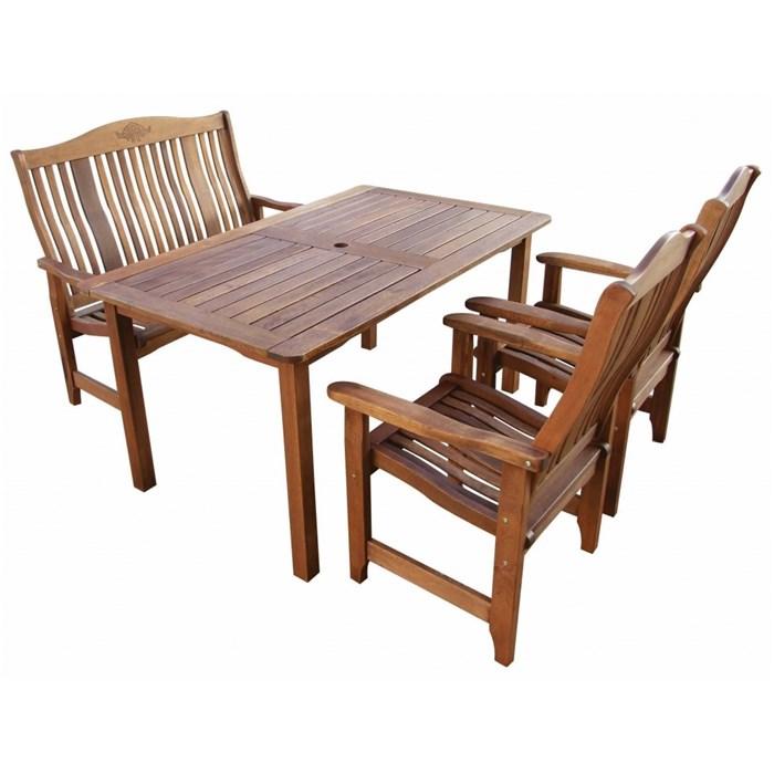 ASKO a. s. Zahradní nábytek sestava NASHVILLE 1+1+2