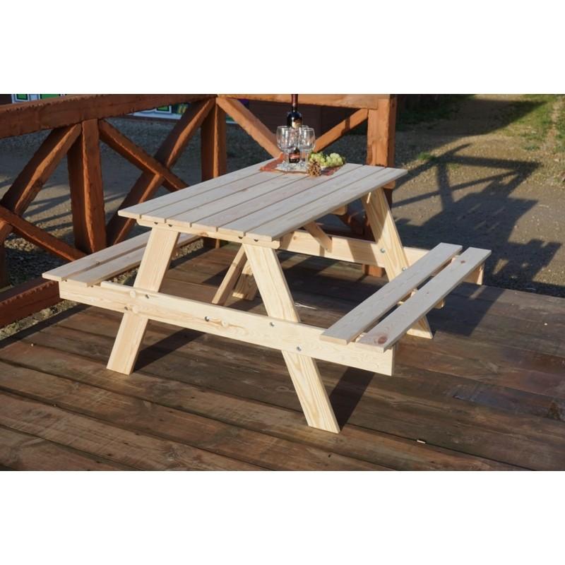 Rojaplast Zahradní nábytek - Set PIKNIK - 120 cm
