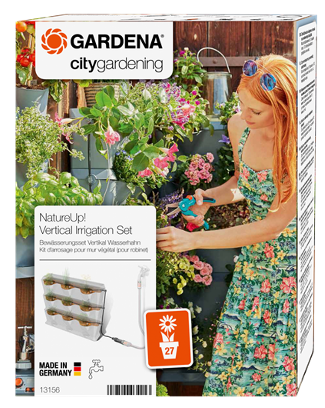 Gardena Zavlažovací sada vertikální - vodovodní kohoutek NatureUp! Gardena 13156-20